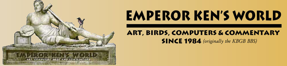 Emperor Ken's World: Art, Computers and Birds