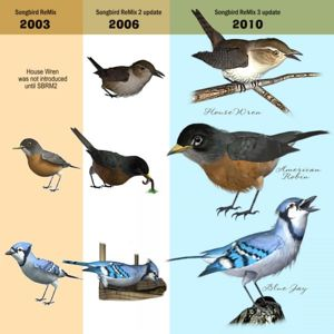 Evolution of the Songbird ReMix series